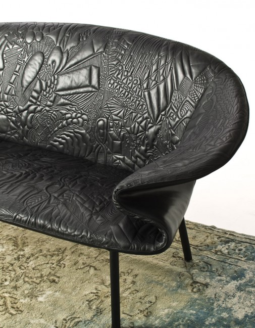 Sofa kružnog oblika slika2