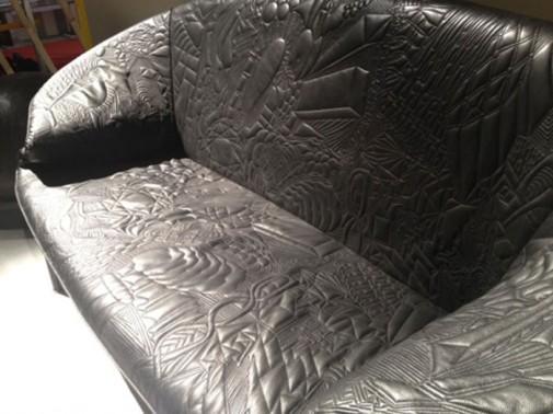 Sofa kružnog oblika slika5