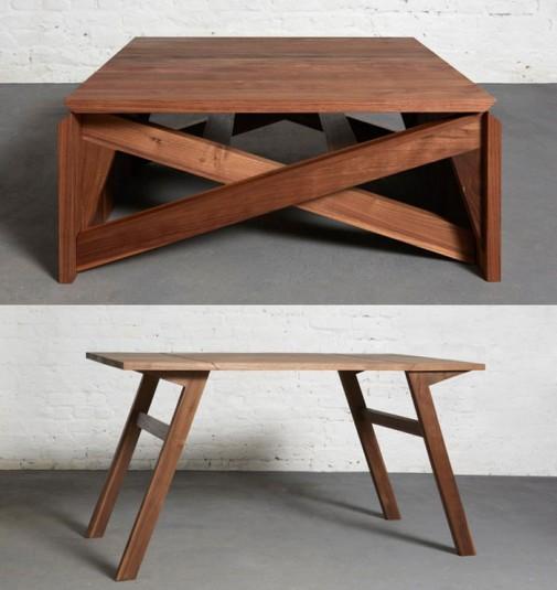 Transformišući stolić za kafu slika2