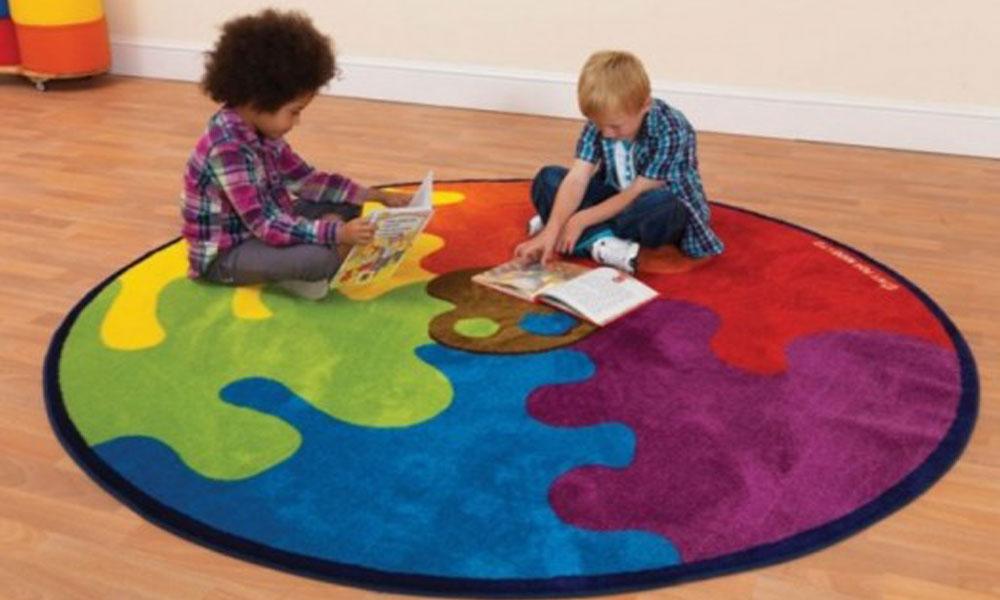 Zanimljivi tepisi za dečije sobe