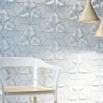Zidne pločice od betona sa teksturom