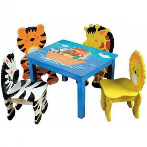 Životinje na stolicama za decu slika3