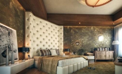 Akcentirani zidovi kao ukras spavaće sobe slika5
