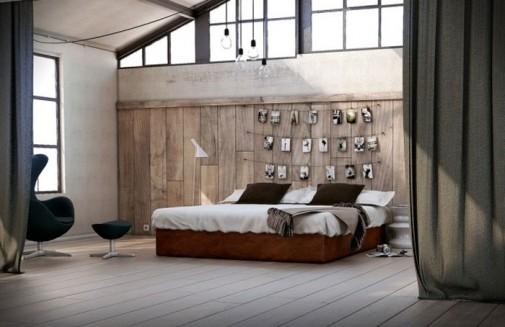 Akcentirani zidovi kao ukras spavaće sobe slika6