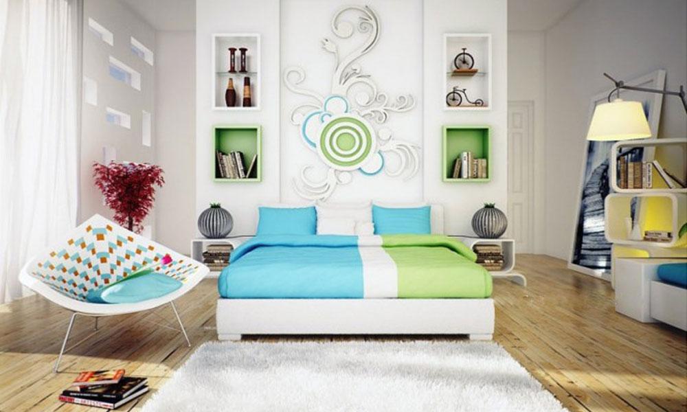 Akcentirani zidovi kao ukras spavaće sobe   BravaCasa Magazin
