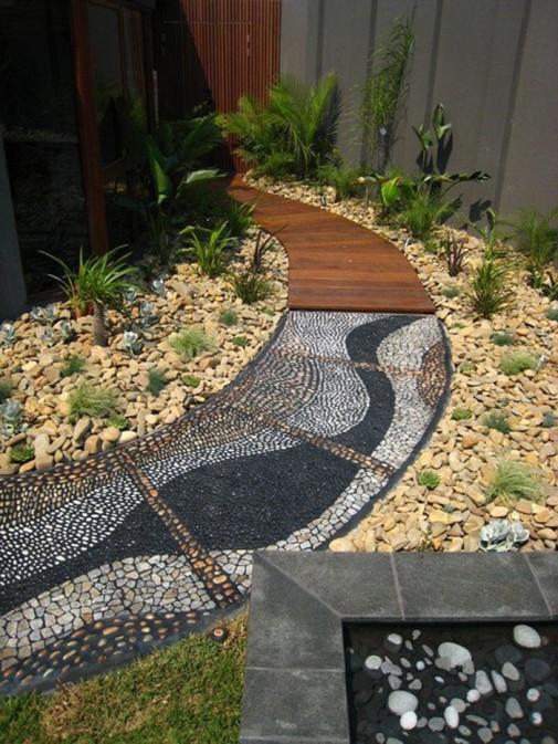 Baštenske staze od kamenčića slika2
