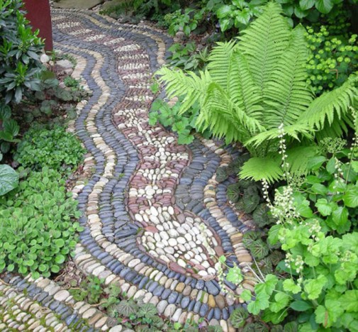 Baštenske staze od kamenčića slika4