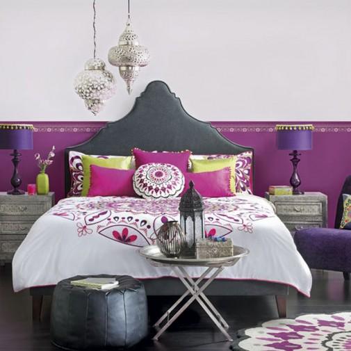 Boemske spavaće sobe slika2