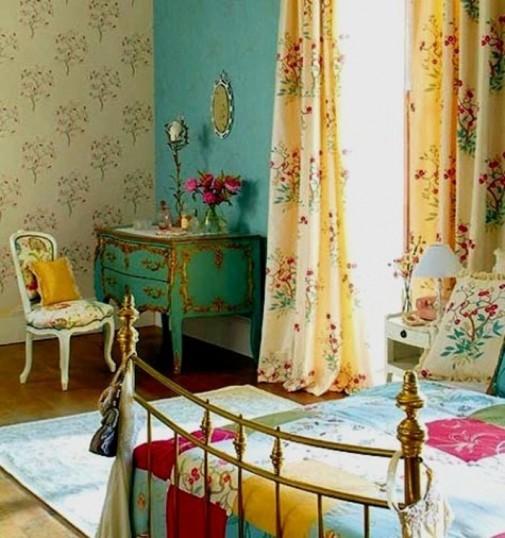 Boemske spavaće sobe slika4