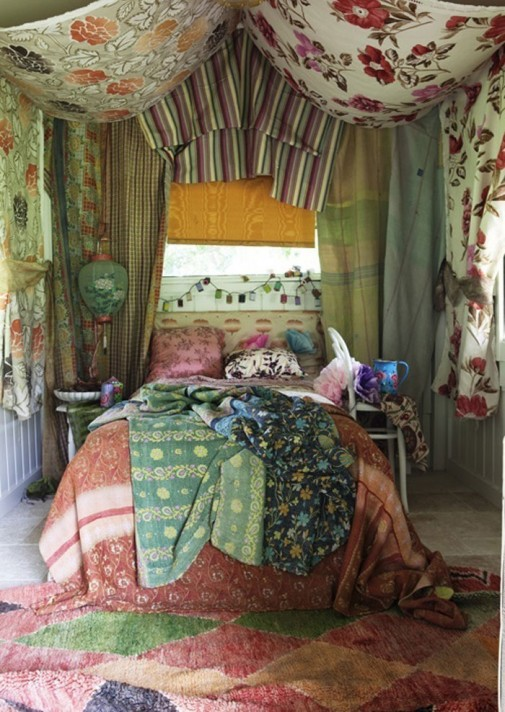 Boemske spavaće sobe slika5