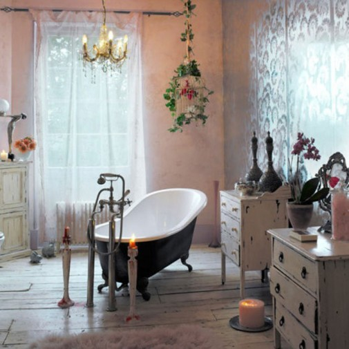 Boemski stil u kupatilu slika3