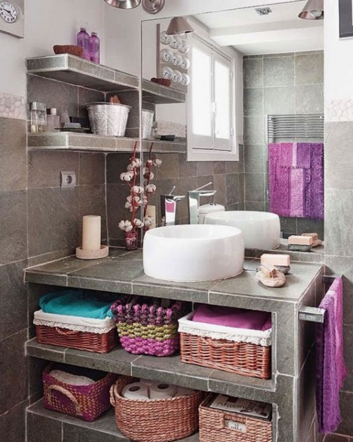Boemski stil u kupatilu slika4