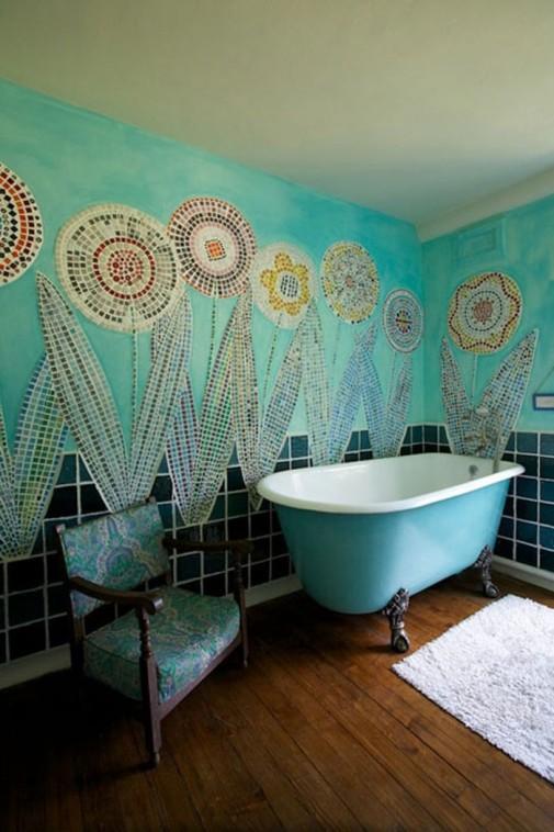 Boemski stil u kupatilu slika6