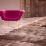 Čester stolica upadljivog i veselog dizajna