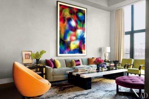 Dnevne sobe u boji slika5