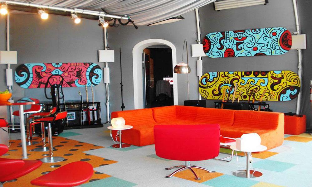 Dnevne sobe u boji