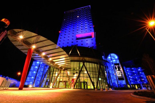 Futuristički hotel B4 u Milanu slika2