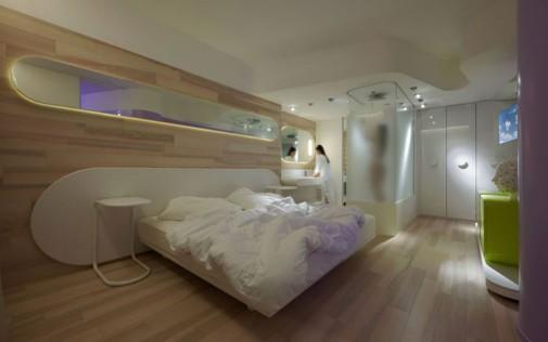 Futuristički hotel B4 u Milanu slika4