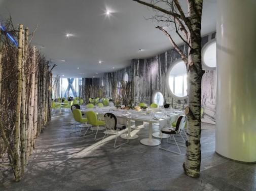 Futuristički hotel B4 u Milanu slika6