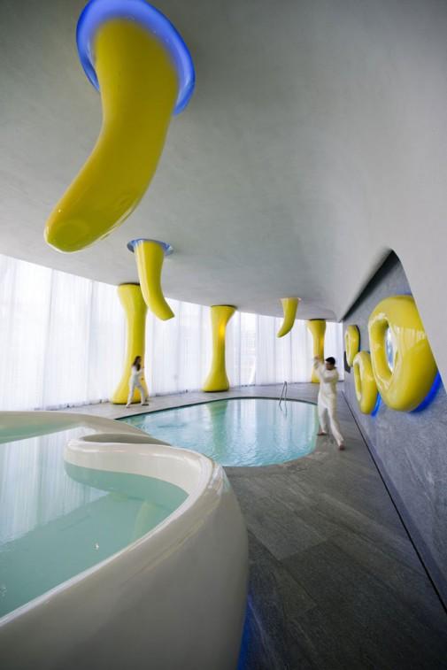 Futuristički hotel B4 u Milanu slika7
