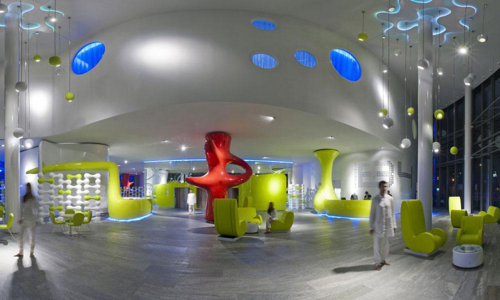 Futuristički hotel B4 u Milanu