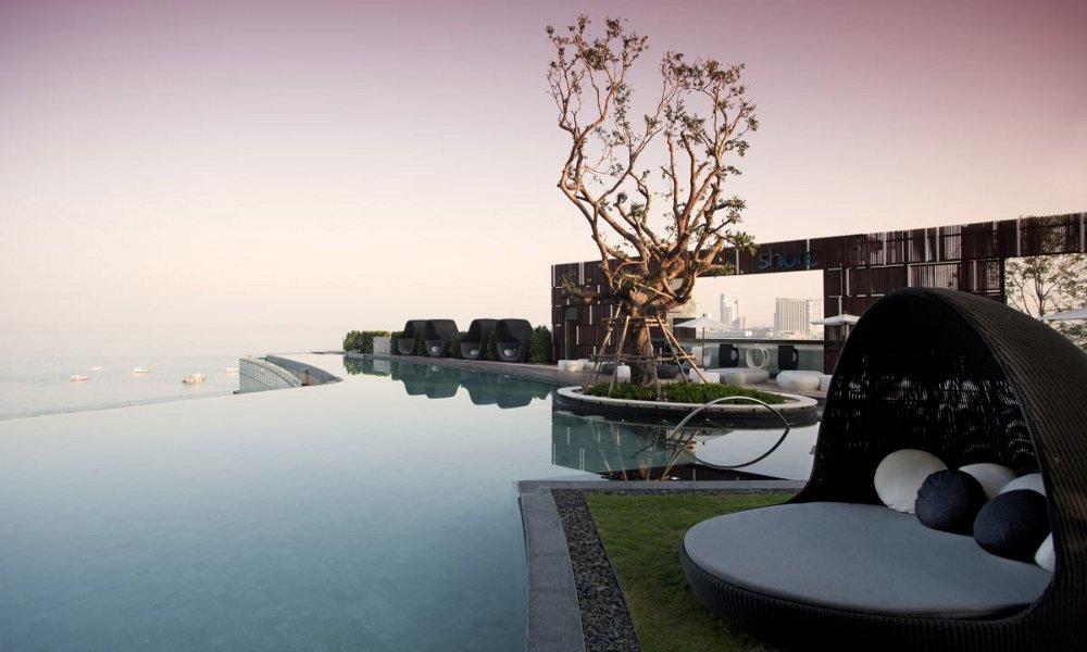 Hilton hotel Pataja Tajland