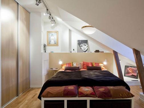Ideje za male spavaće sobe slika2