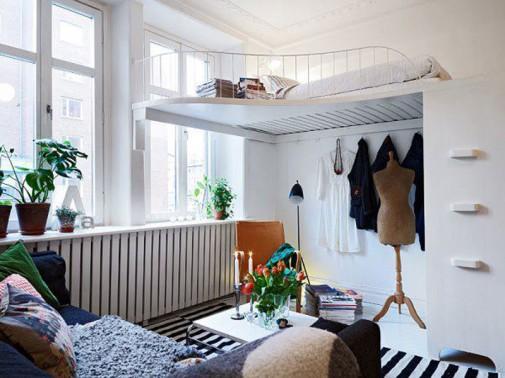 Ideje za male spavaće sobe slika3