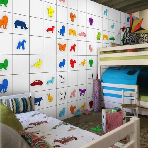 Interesantan zid za dečije sobe slika2
