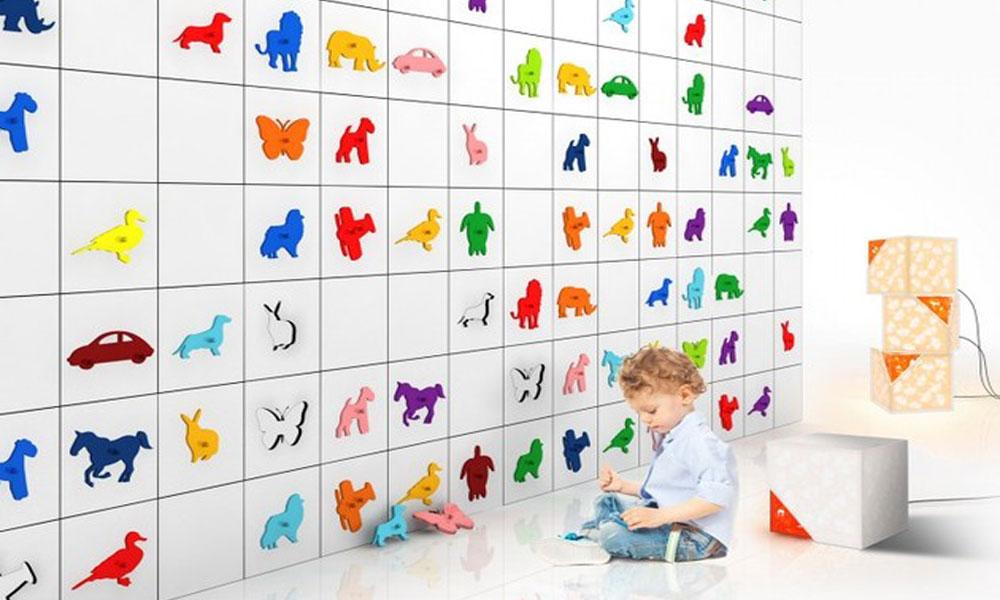 Interesantan zid za dečije sobe