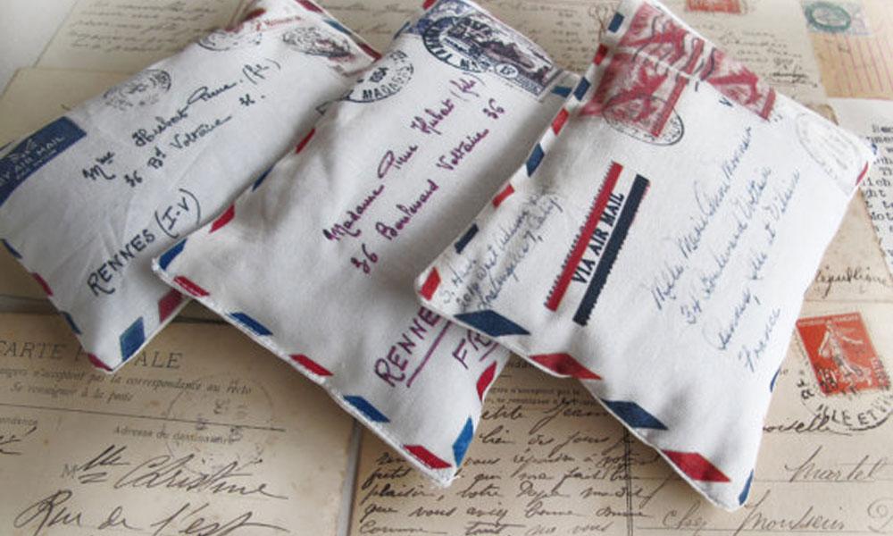 Jastučići u obliku pisma