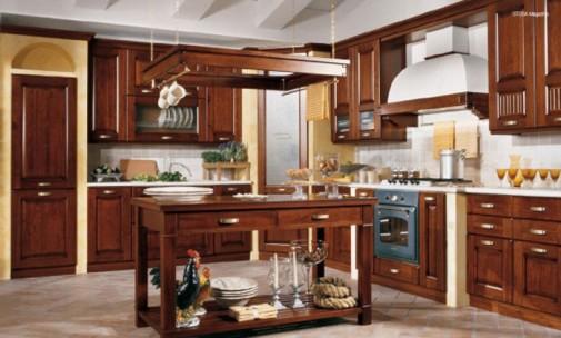 Kuhinja u klasičnom stilu slika2