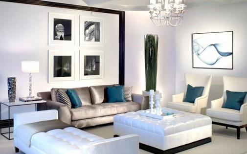 Luksuzne i glamurozne dnevne sobe   BravaCasa Magazin