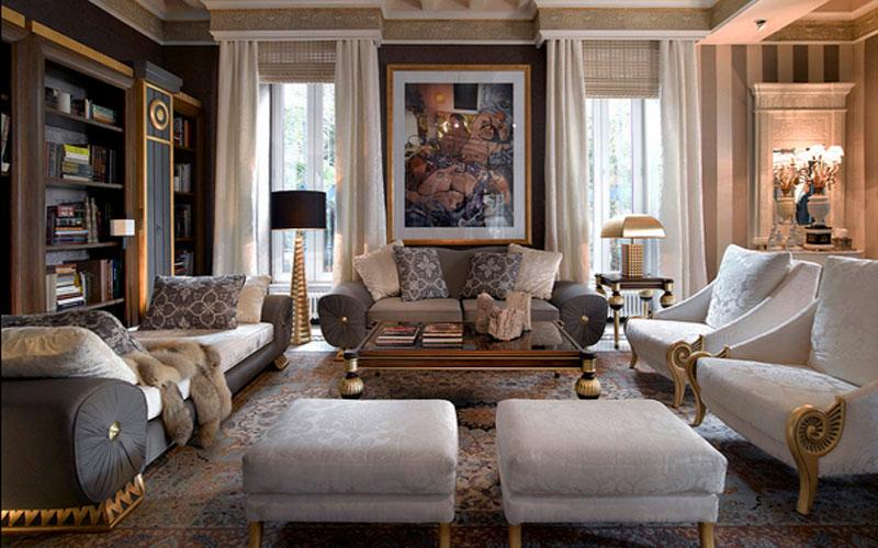 Luksuzne-i-glamurozne-dnevne-sobe-slika5  BravaCasa Magazin