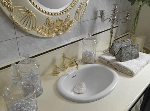 Luksuzno i moderno kupatilo u boji šampanjca slika3