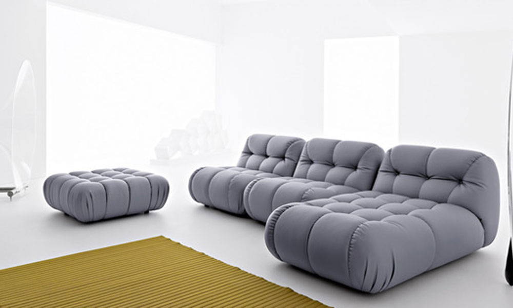 Modularna sofa sa ekstra dubokim tapacirungom