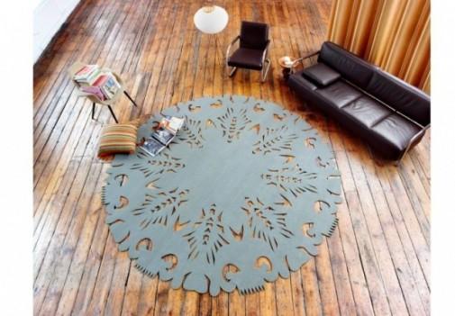 Okrugli tepih slika 2