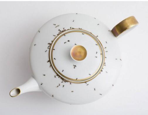 Porcelanski set sa mravima slika4