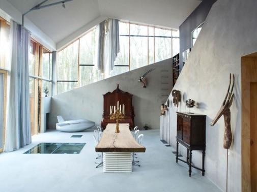 Savremena kuća iz bajke i snova u Holandiji slika6
