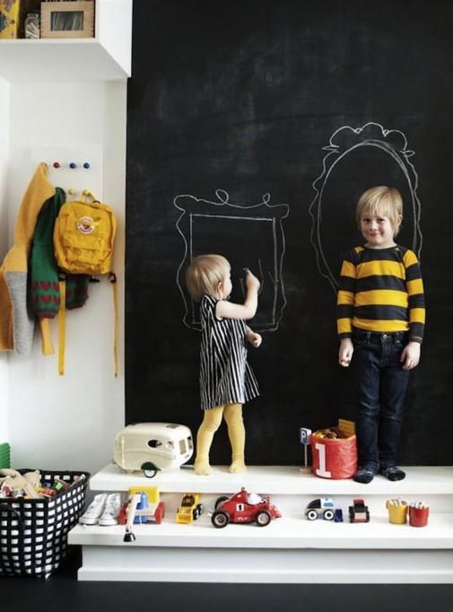 Školska tabla u dečijoj sobi slika2