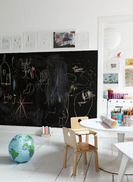 Školska tabla u dečijoj sobi slika3