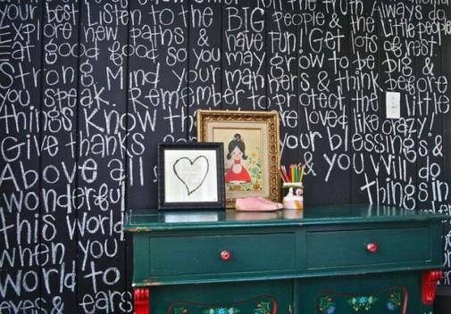 Školska tabla u dečijoj sobi slika4