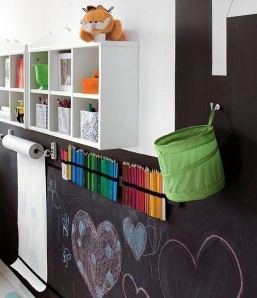 Školska tabla u dečijoj sobi slika5