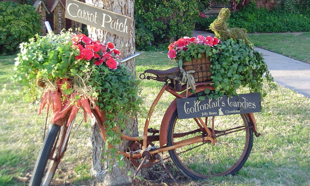 Starinska dekoracija za vrt