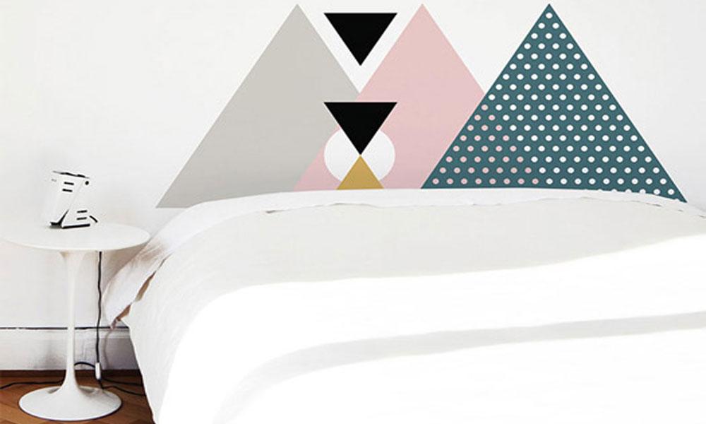 Uzglavlja za krevet na skandinavski nacin