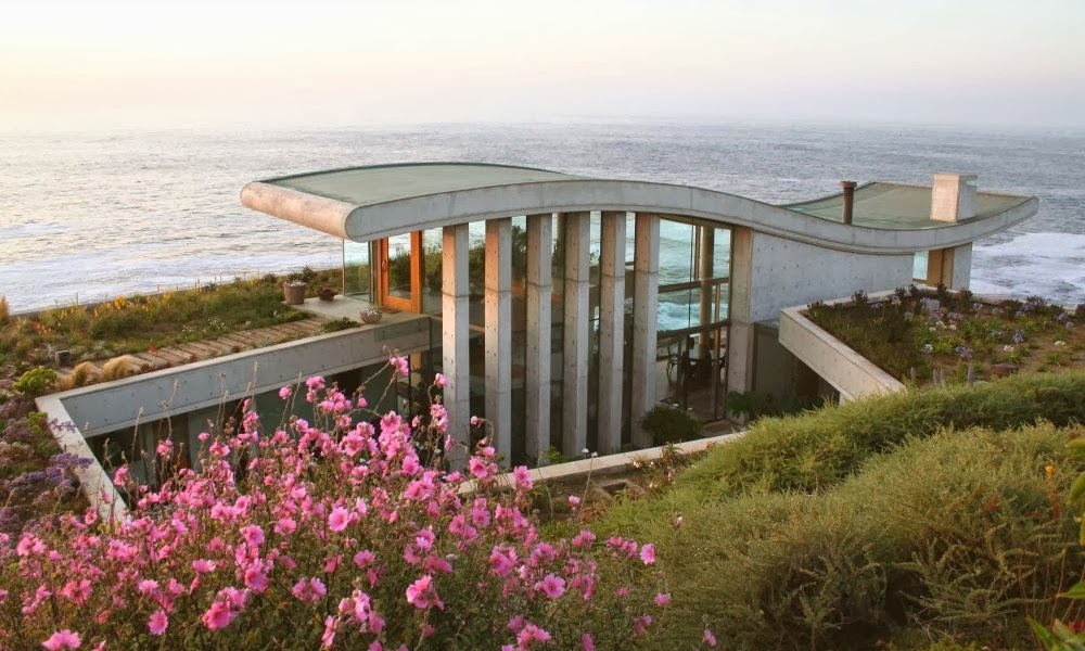 Vila na obali