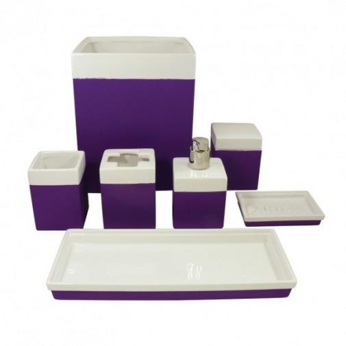 Violet dodaci za kupatilo slika 4