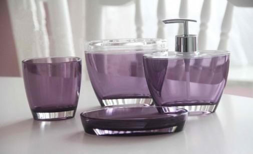 Violet dodaci za kupatilo slika 9