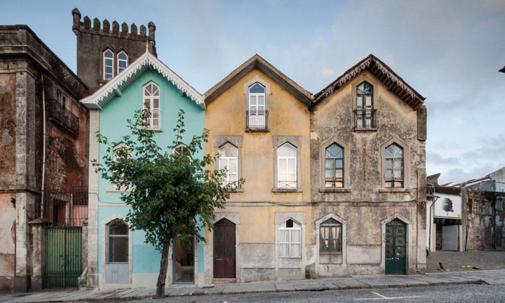 Zamak tri kućice iz Portugala