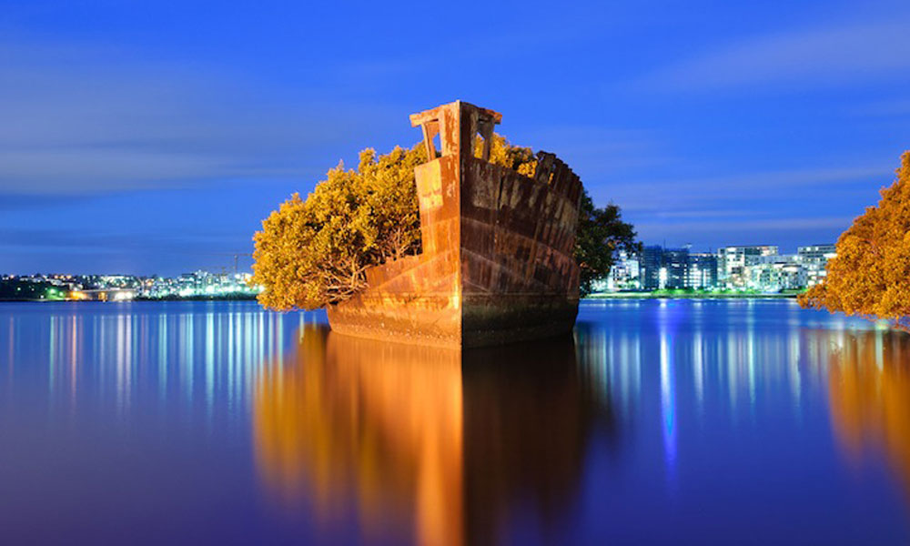 102 godine stara olupina broda